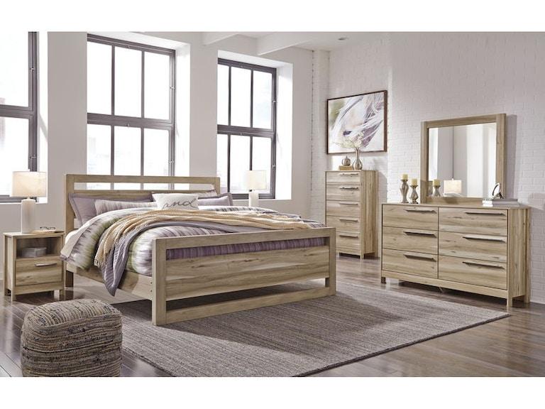 Ashley Kianni 7 Piece King Panel Bed Set - Portland, OR ...