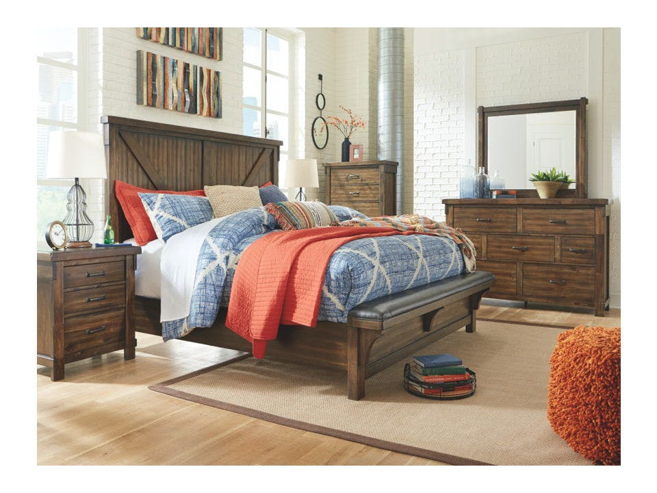 Ashley Lakeleigh 6 Piece Queen Upholstered Bed Set B718 31 36 45 157 154 96 Portland Or Key