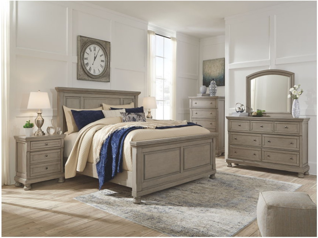 8 Piece Queen Panel Bed Set