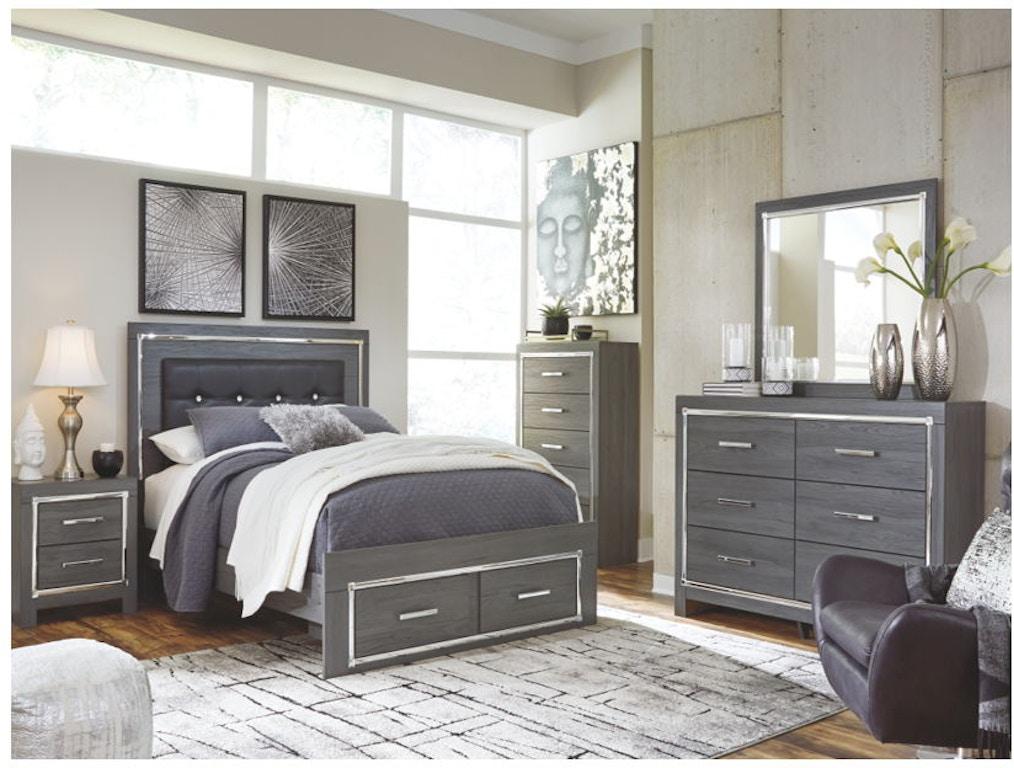 8 Piece Queen Storage Bed Set