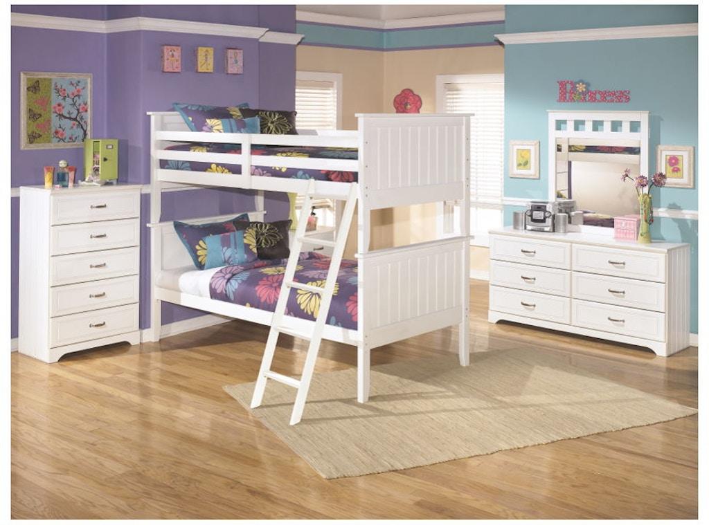 Ashley Lulu 6 Piece Twin Bunk Bed Set B102 21 26 59p 59r 59s 92