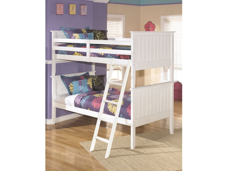 Ashley Bunk Bed Twin And Twin And Innerspring Kids Mattresses