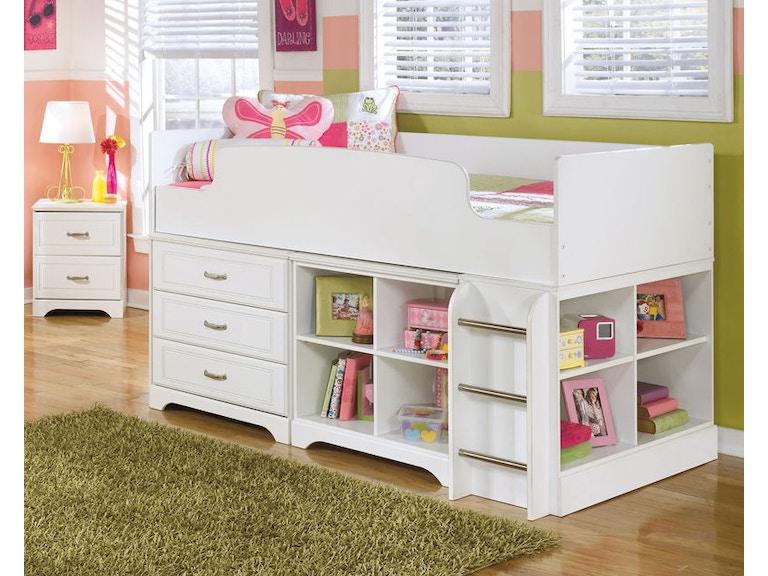 Ashley Lulu Twin Loft Bed B102 68t 16 17 19 B100 11