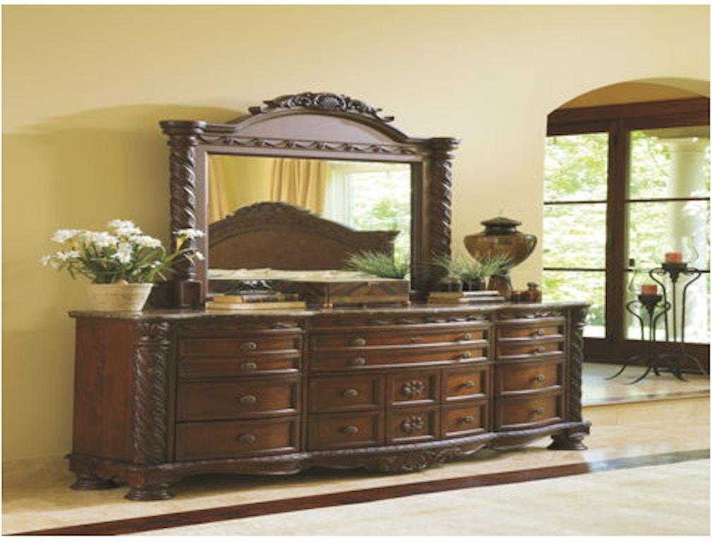 Ashley Dresser And Mirror Portland Or Key Home Furnishings