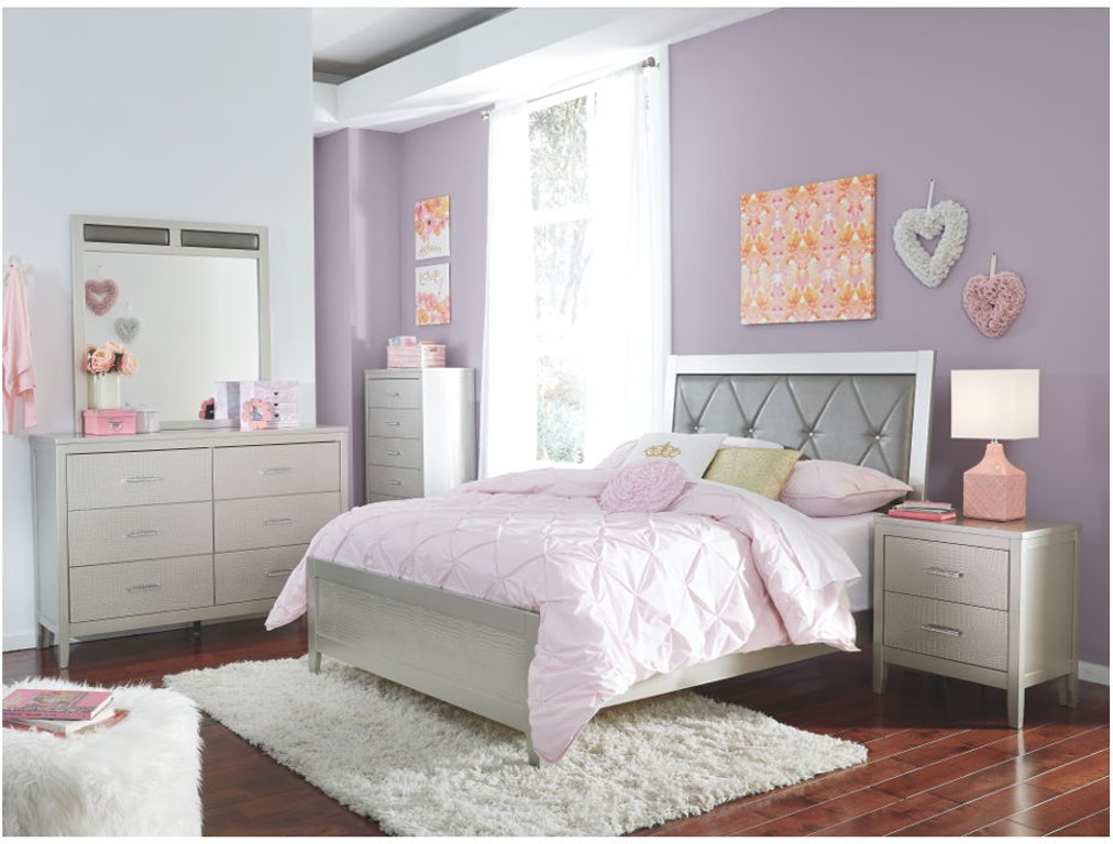 Ashley Olivet 4 Piece Full Bed Set Portland Or Key Home Furnishings