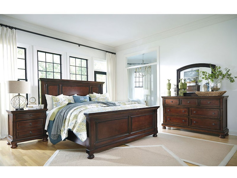Ashley Porter 6 Piece Queen Bed Set B697 31 36 57 54 96 92 Portland Or Key Home Furnishings