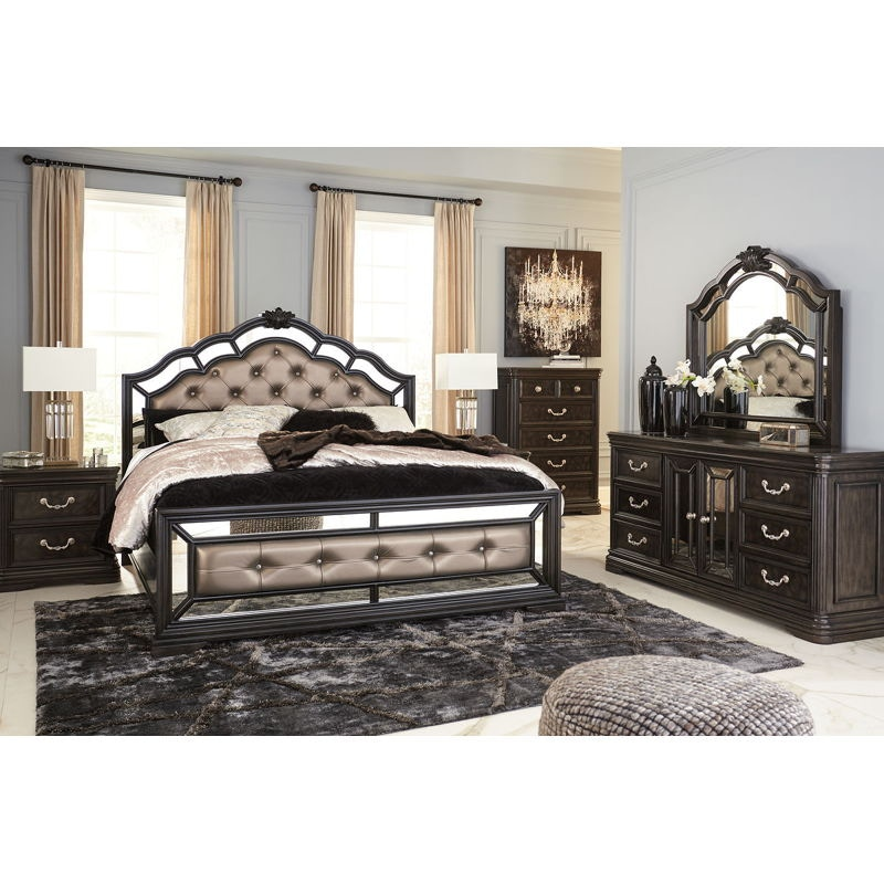 Ashley Quinshire 5 Piece California King Bed Set B728 31 36 58