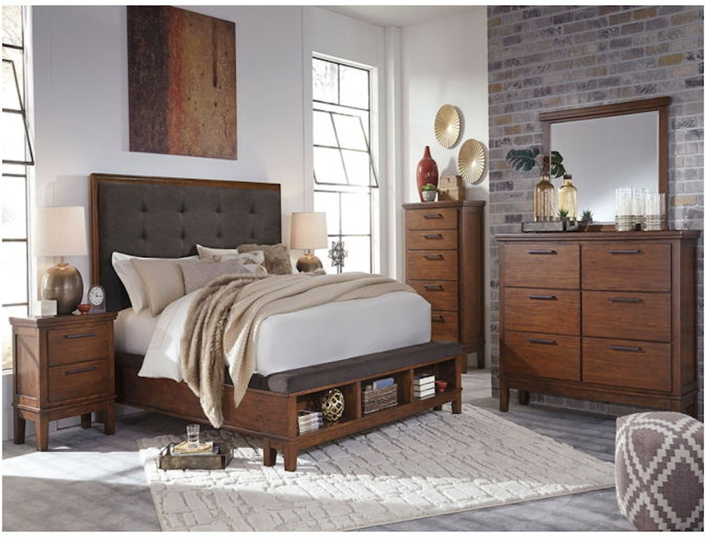 Ashley Ralene 7 Piece Queen Bed Set Portland Or Key Home Furnishings