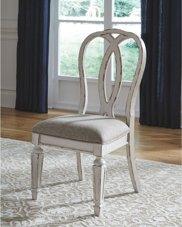 Ashley Realyn Dining Upholstered Side Chair (QTY 2) D743