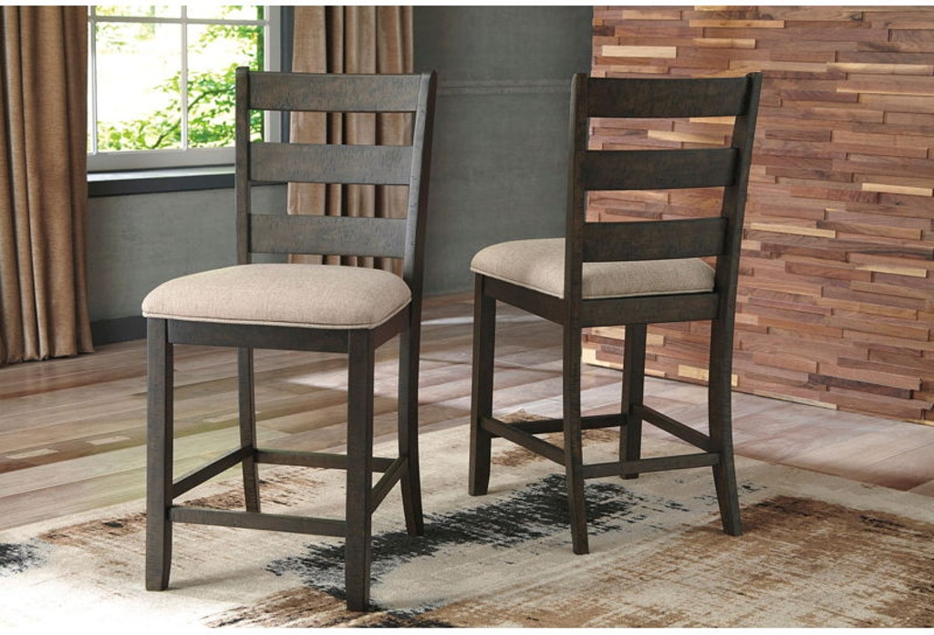 3 Piece Rectangular Counter Table with Storage Set