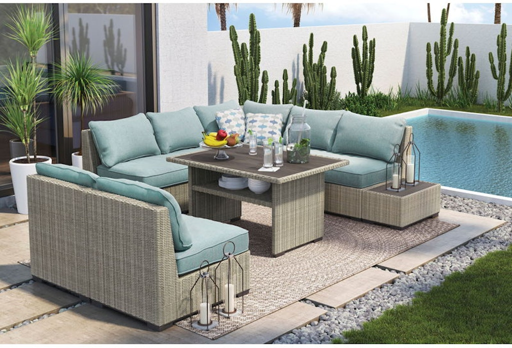 Ashley Silent Brook Outdoor Living Set - Portland, OR ... on Outdoor Living Set id=23651