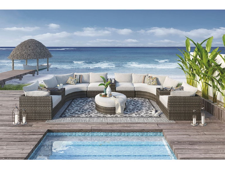 Ashley Spring Dew Outdoor Living Set - Portland, OR | Key ... on Outdoor Living Set id=59028