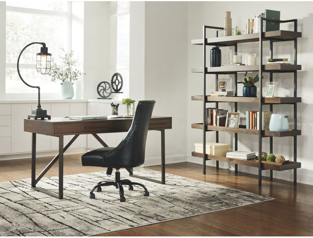 Ashley Starmore Home Office Desk And Swivel Desk Chair And