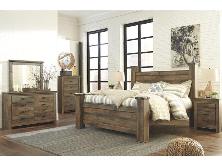 Ashley Trinell 7 Piece King Storage Bed Set B446 21 26 46