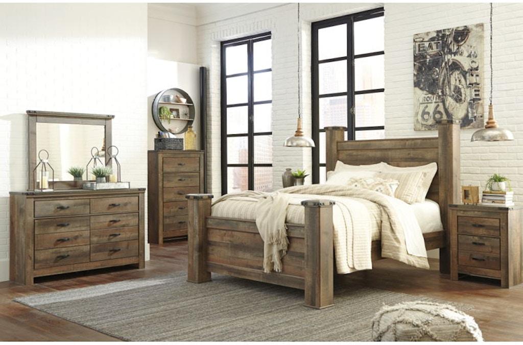 Poster Bedroom Sets | 6 Piece Queen Poster Bed Set