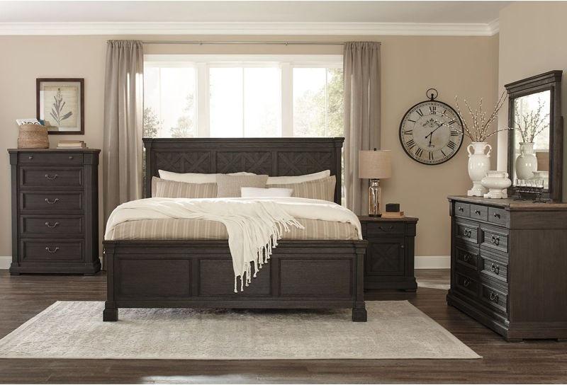 Ashley Tyler Creek 7 Piece California King Bed Set
