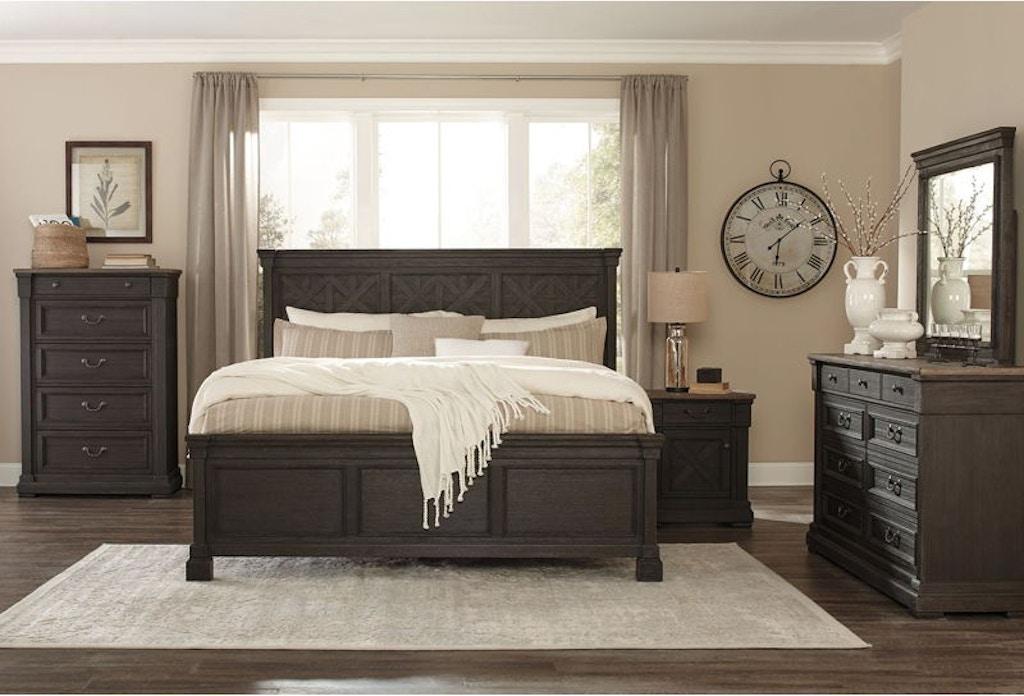 Ashley Tyler Creek 7 Piece King Bed Set - Portland, OR | Key ...