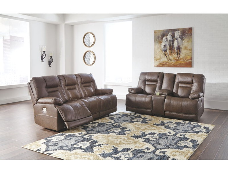 07524b6a6 Ashley Wurstrow Power Reclining Living Room Set U54603-15-18 ...