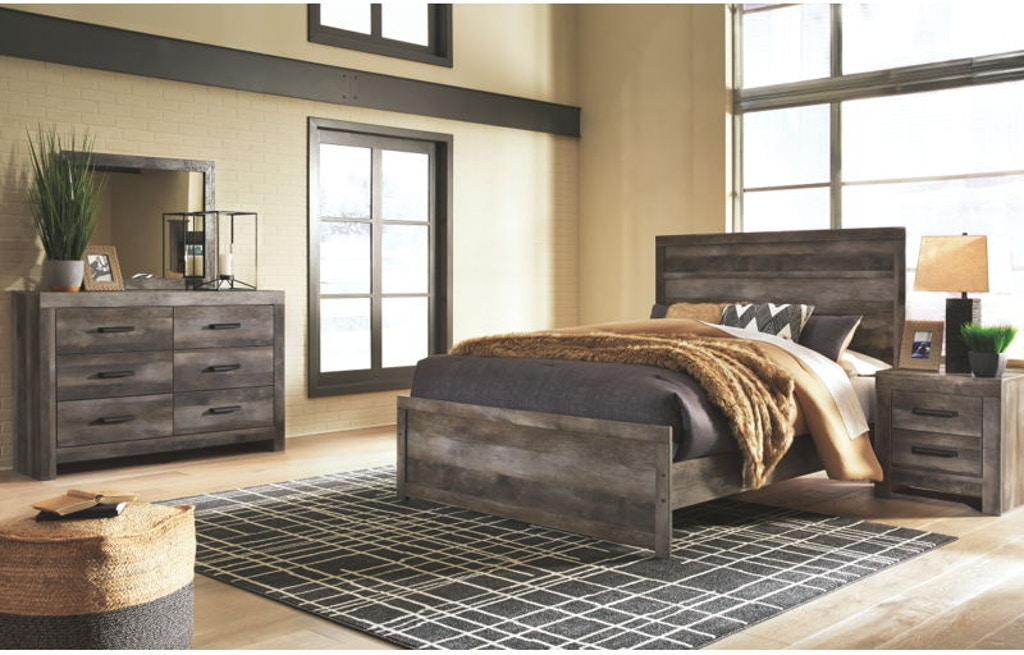 5 Piece Queen Panel Bedroom Set