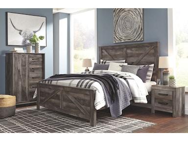 Ashley Wynnlow 5 Piece Queen Panel Bedroom Set B440 31 36 71 96 92 Portland Or Key Home