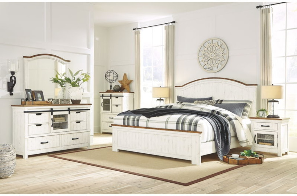 6 Piece Queen Panel Bed Set