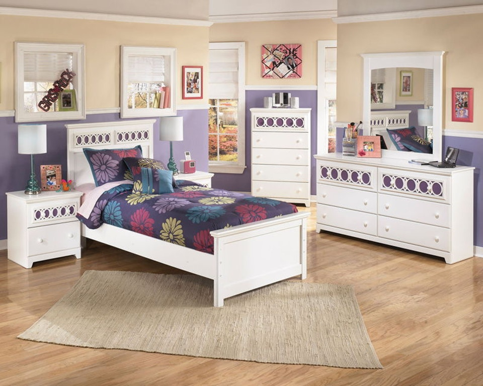 Zayley 6 Piece Twin Bed Set
