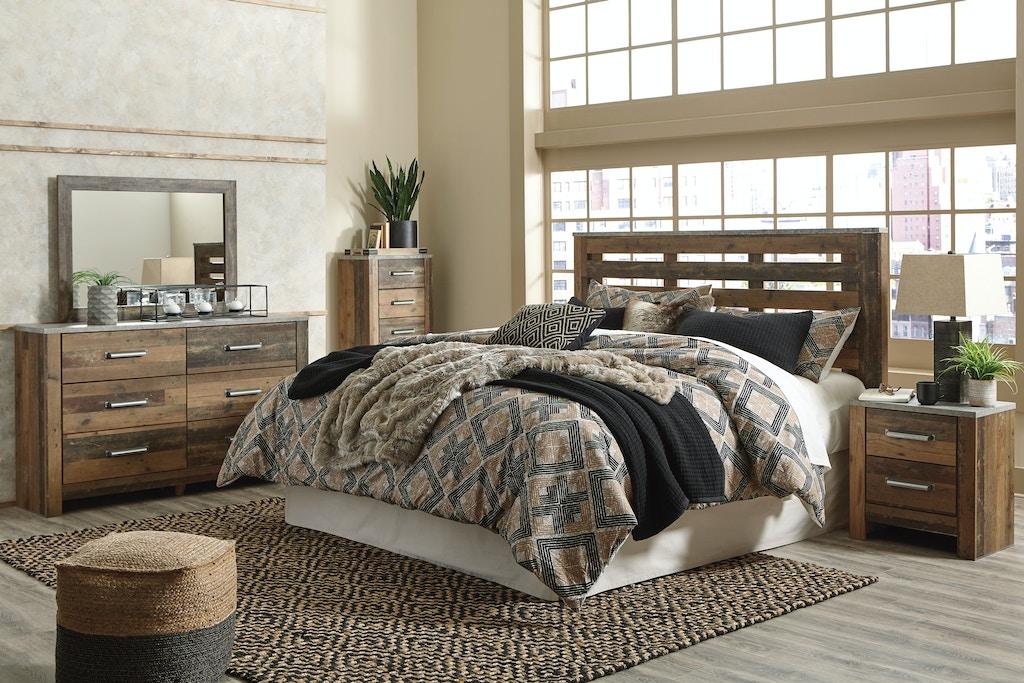 Ashley Chadbrook 6 Piece King Panel Bed Set B337 11 31 36 58 92 B100 66 Portland Or Key Home