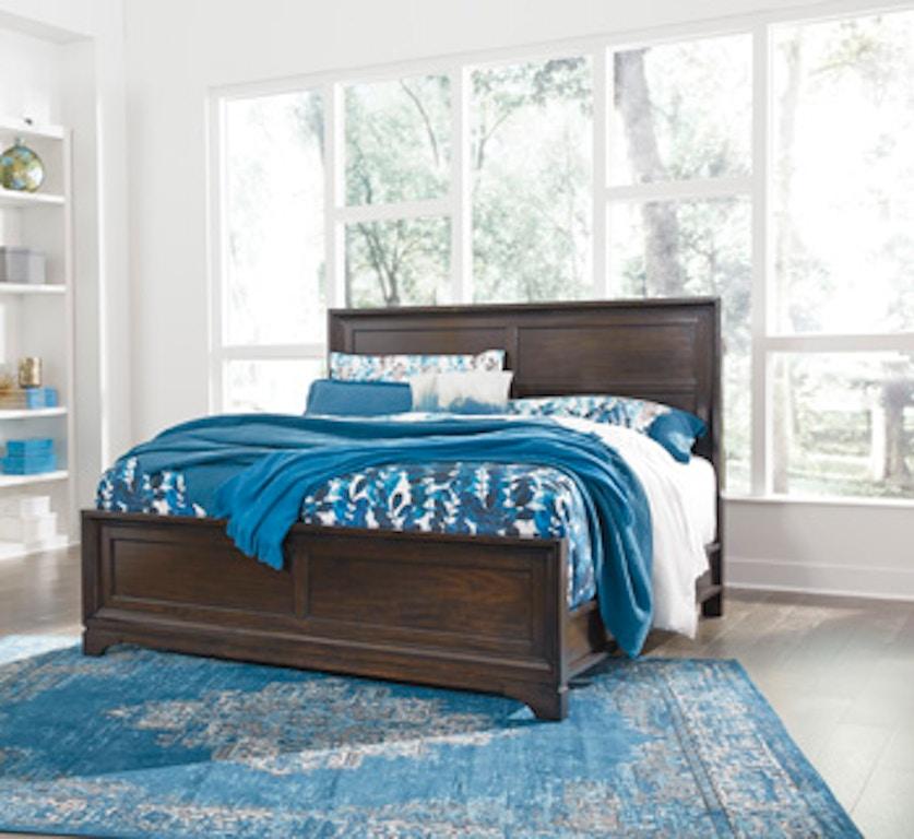 Ashley Furniture Portland Or: Ashley Kolvey Queen Panel Footboard B637-54