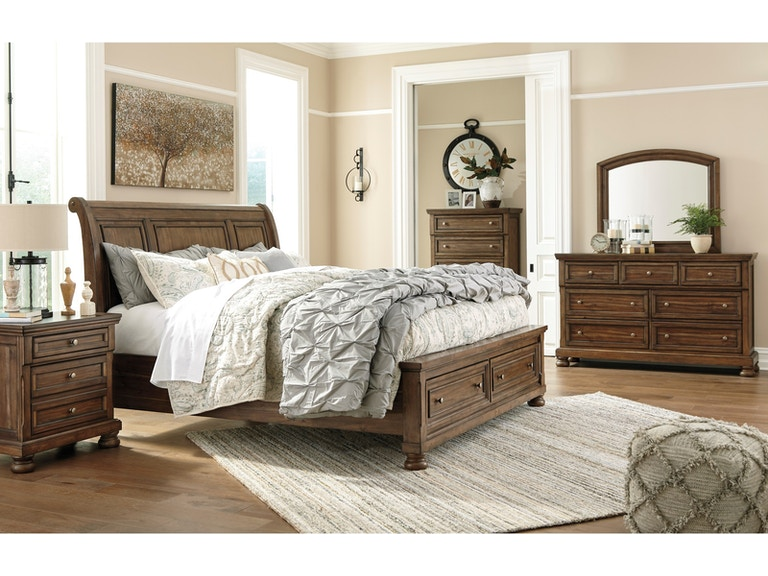 Ashley Flynnter 7 Piece King Bed Set - Portland, OR | Key Home ...