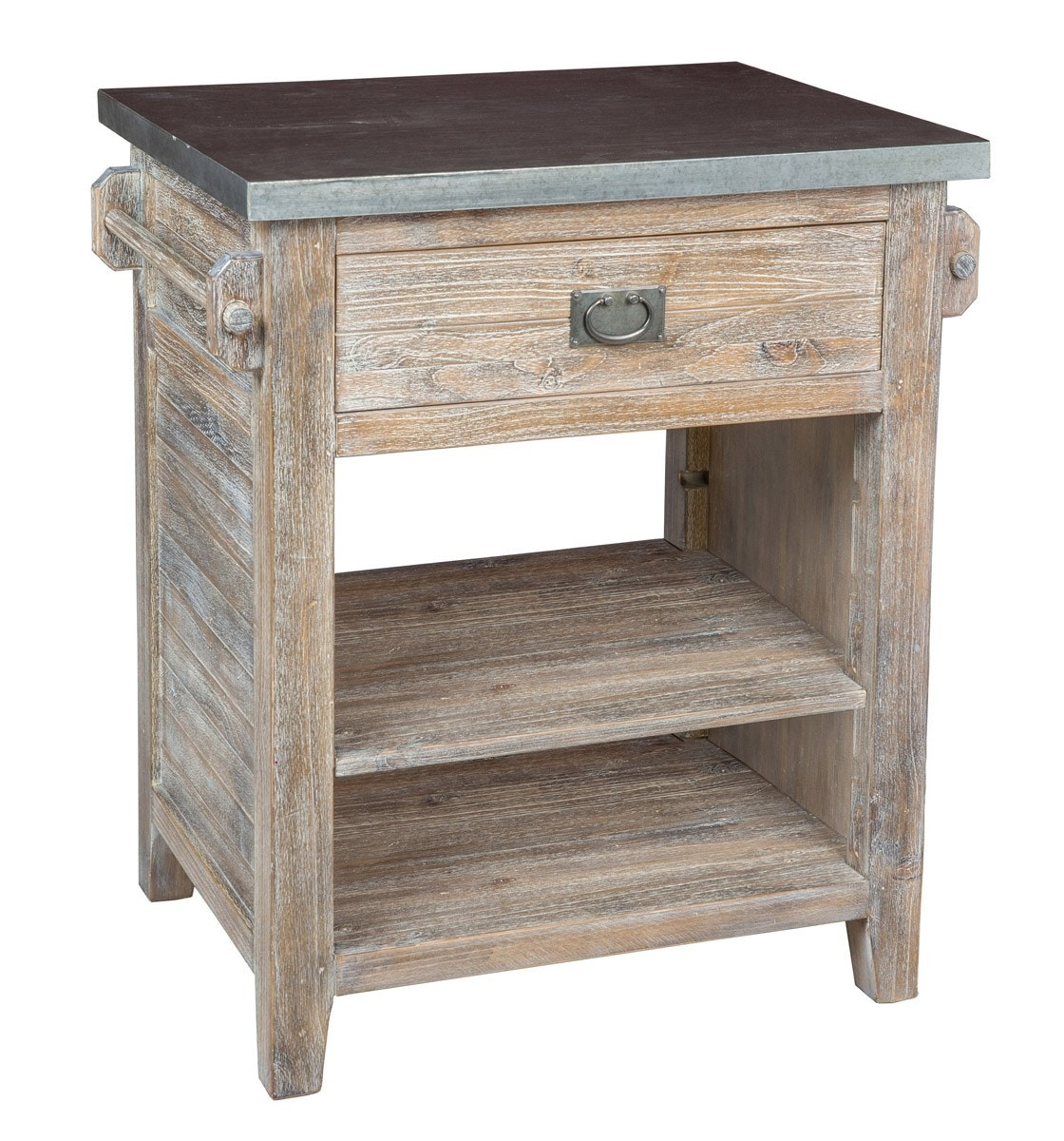 Great Classic Home Argus Kitchen Island W Zinc Top 51004777 In Portland, Oregon