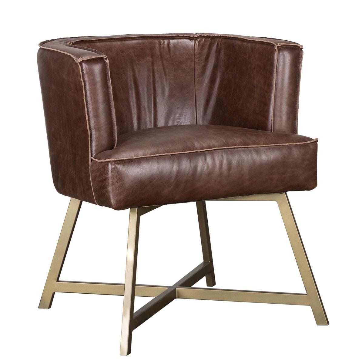 Classic Home Avenue Accent Chair Brown 53004919 In Portland, Oregon