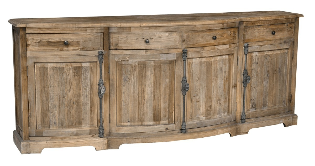 Classic home furniture reclaimed wood Gathering Table Classic Home Balthazar 4dr 4dwr Sideboard 52004350 Handcrafted Of Reclaimed Elm Wood Key Home Furnishings Classic Home Balthazar 4dr 4dwr Sideboard 52004350 Portland Or