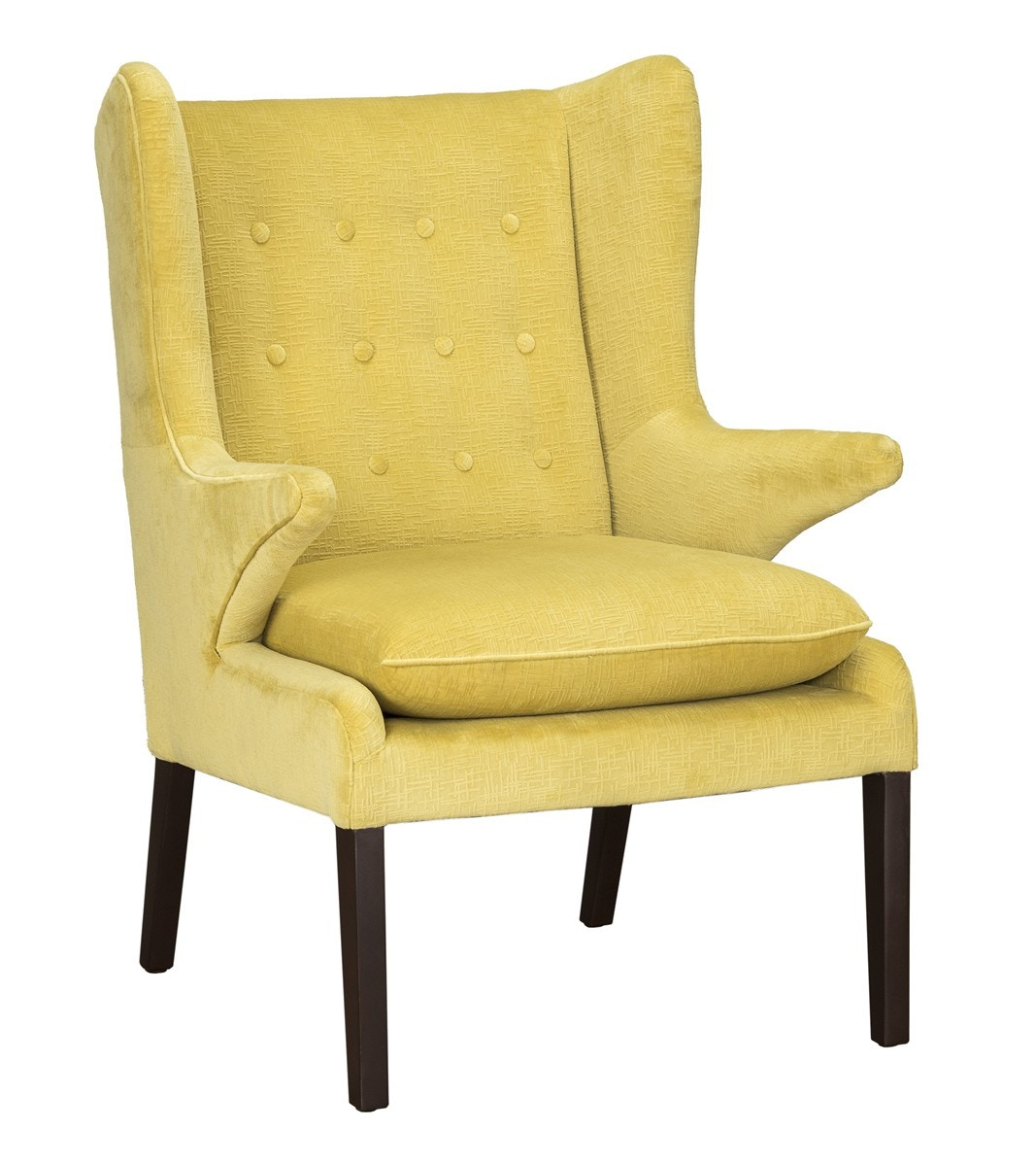 Classic Home Clover Accent Chair Mustard 53050526 In Portland, Oregon