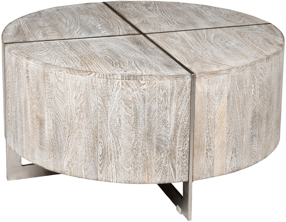 Classic Home Desmond Round Coffee Table Gray 51010871