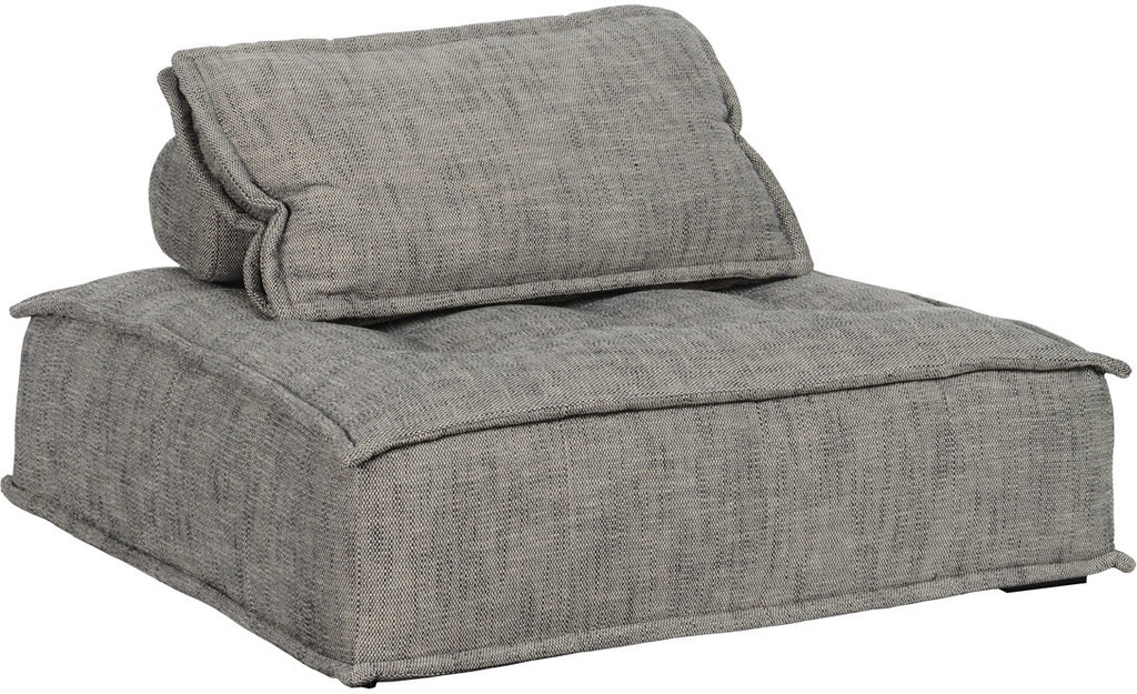 Square Lounge Chair Gray