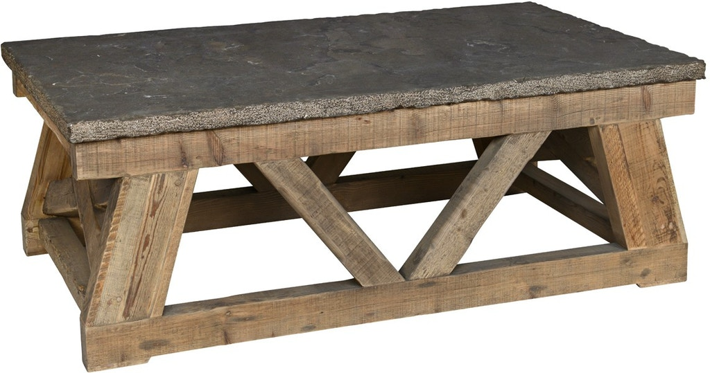 Coffee Table Stone Top