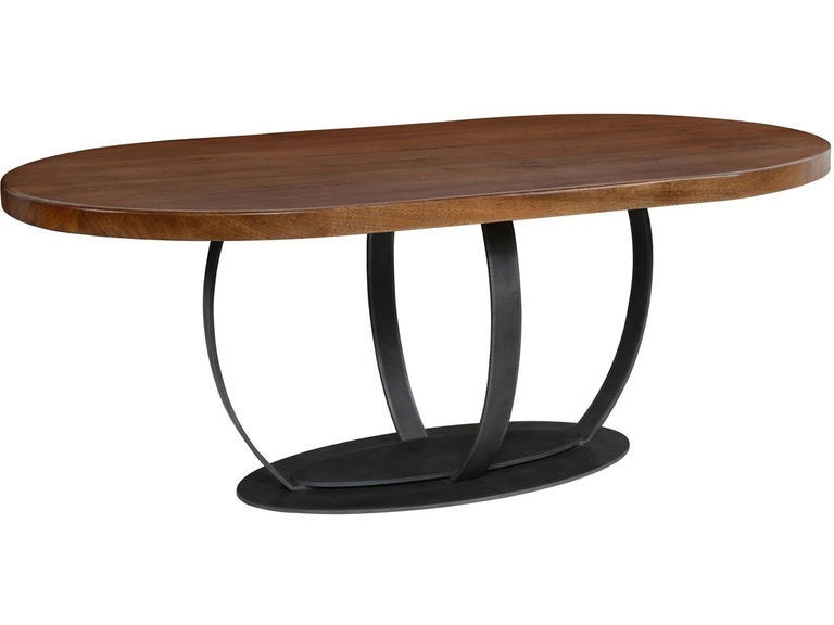 Classic Home Quentin Oval Dining Table 78in