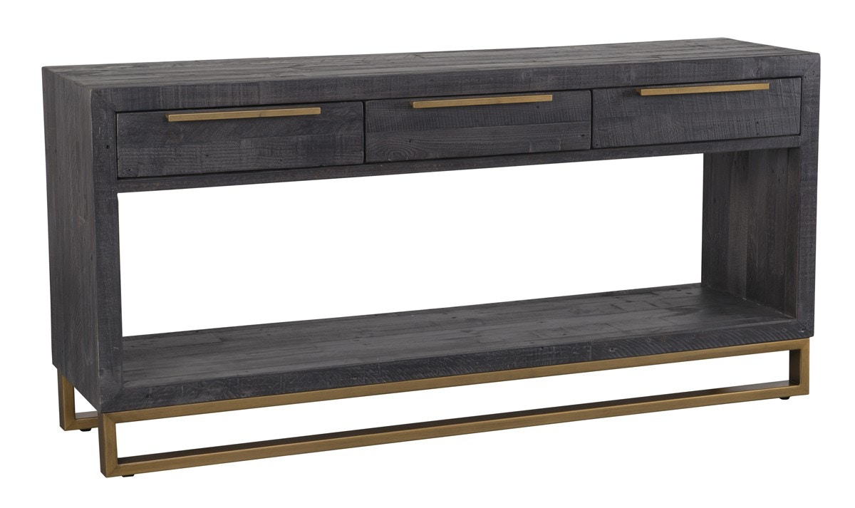 Classic Home Vogue 3Dwr Console Table Black 51030567 In Portland, Oregon