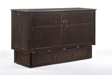 Night And Day Furniture Clover Murphy Cabinet Bed MUR CLV QEN CHO