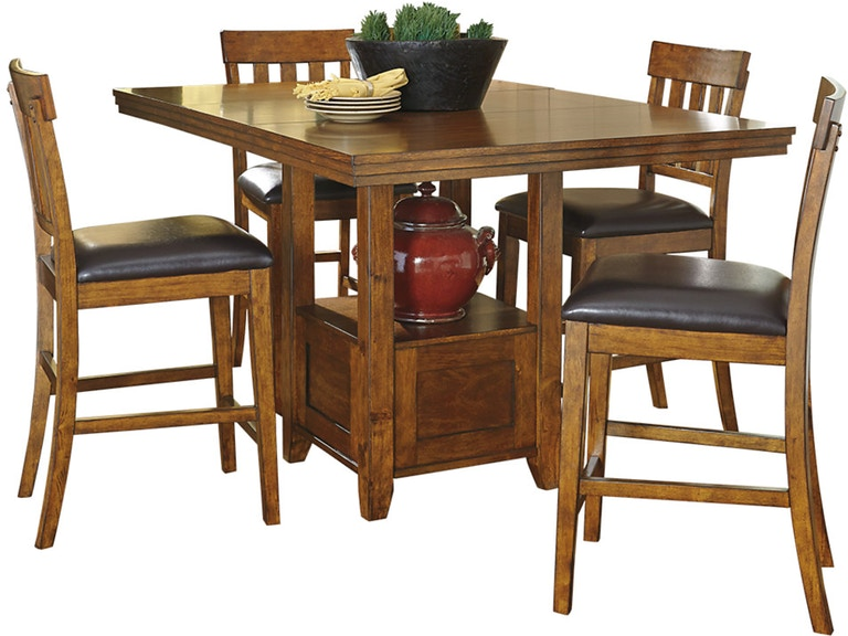 Ashley Ralene 5 Piece Rectangular Dining Set Portland