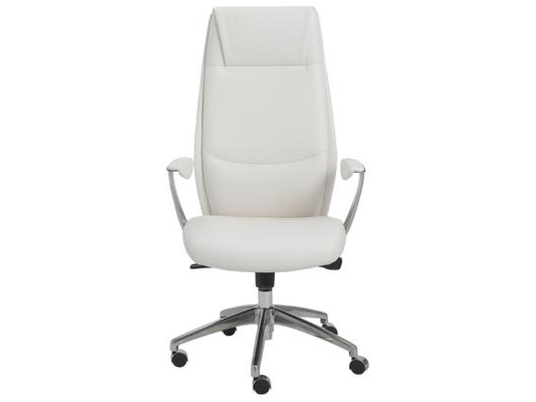 Euro Style Crosby High Back Office Chair 00472wht Portland Or Key Home Furnishings