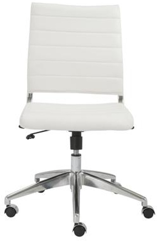 Armless Low Back Office Chair