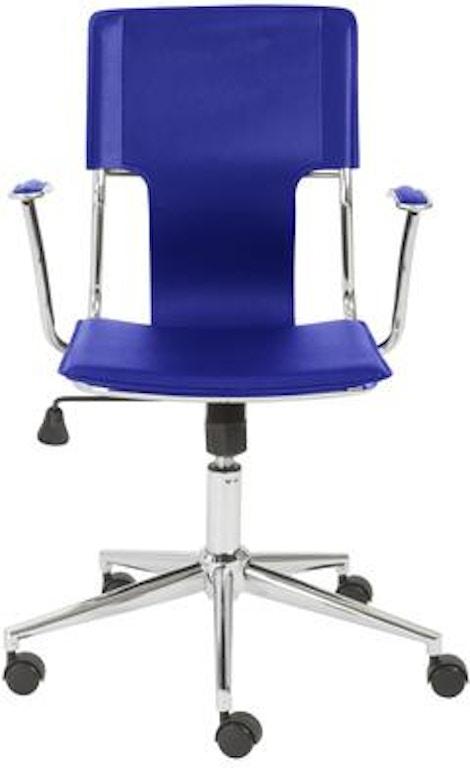 Euro Style Terry Office Chair 04401blu Portland Or Key Home Furnishings