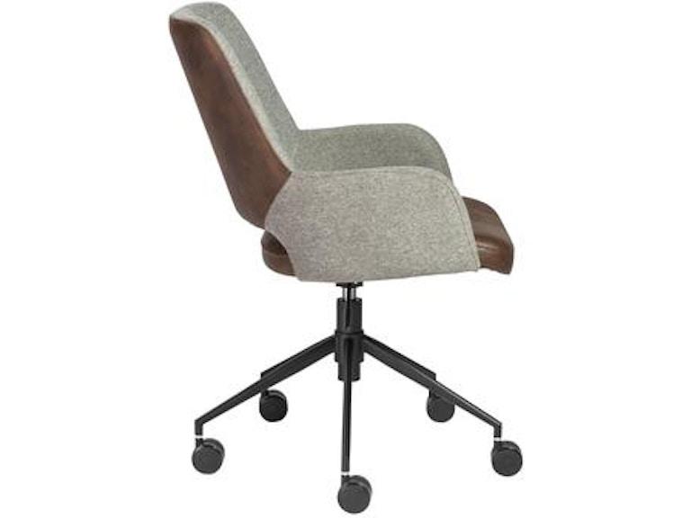 Euro Style Desi Office Chair 30483ltbrn In Portland Oregon