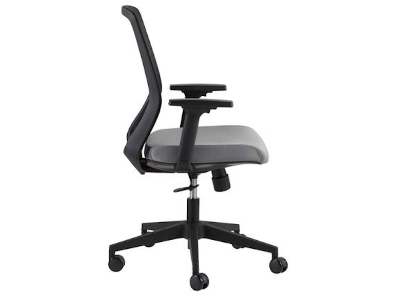 Euro Style Spiro Office Chair With Adjustable Arms 39003blk Portland Or Key Home Furnishings