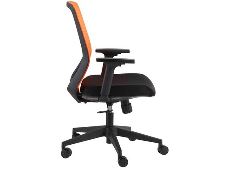 Chairs with adjustable arms