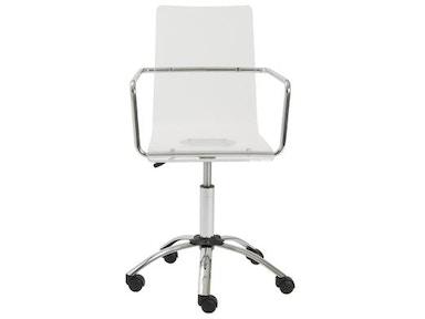 Euro Style Chloe Office Chair 80943clr Portland Or Key Home Furnishings
