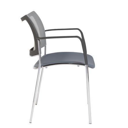 90536GRY. Vahn Visitor Chair