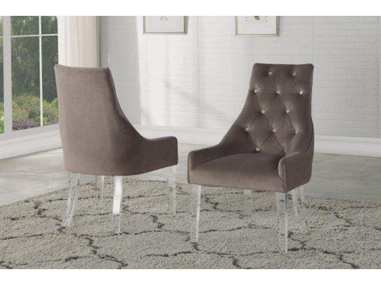 Flexsteel Vogue Acrylic Leg Dining Chair W1163 840 Portland Or