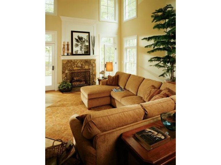 Incredible Flexsteel Thornton Fabric Armless Loveseat 5535 29 Creativecarmelina Interior Chair Design Creativecarmelinacom